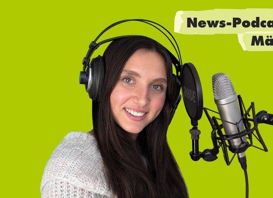 News-Podcast März: Von Asche und Lava