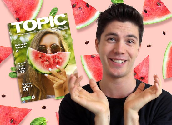 TOPICtube mit Moritz: Wassermelonen-Slush