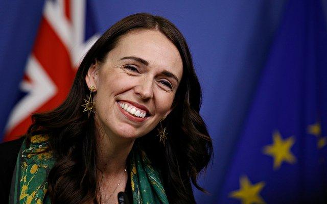 Die neuseeländische Premierministerin Jacinda Ardern
