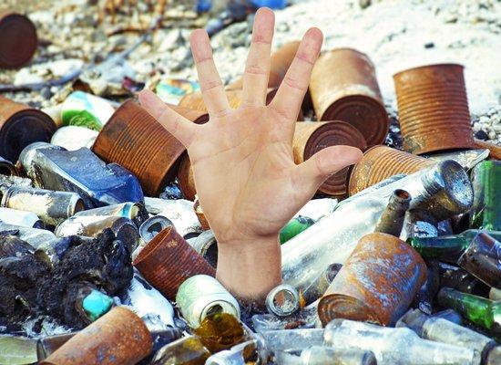 Der Umwelt zuliebe mit dem Müll aufräumen