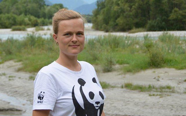 Marianne Götsch arbeitet für den WWF