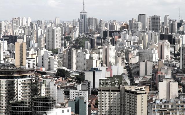 Ein Labyrinth aus Hochhäusern – so präsentiert sich São Paulo.