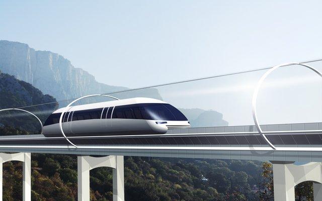 Der Hyperloop könnte bald schon Realität werden.