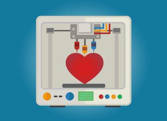 Video: Ein Herz aus dem 3D-Drucker