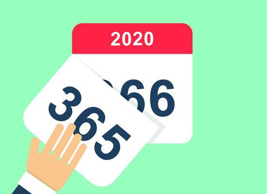 Warum hat 2020 einen Tag mehr?